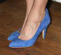 June 14 , 2012 Close up of Krysten Ritter's shoes as she attends the MCC Theater's benefit reading of The Heart Of The Matter afterparty  at the Ramscale in New York City. © RW/MediaPunch Inc. NORTEPHOTO.COM<br />