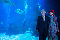 King Philippe & Queen Mathilde of Belgium, on a State Visit to Portugal visit the Oceanarium, Lisbon