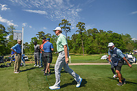 Ernie Els (RSA) approaches the third tee during round 1 of the Houston Open, Golf Club of Houston, Houston, Texas. 3/29/2018.<br /> Picture: Golffile | Ken Murray<br /> <br /> <br /> All photo usage must carry mandatory copyright credit (© Golffile | Ken Murray)