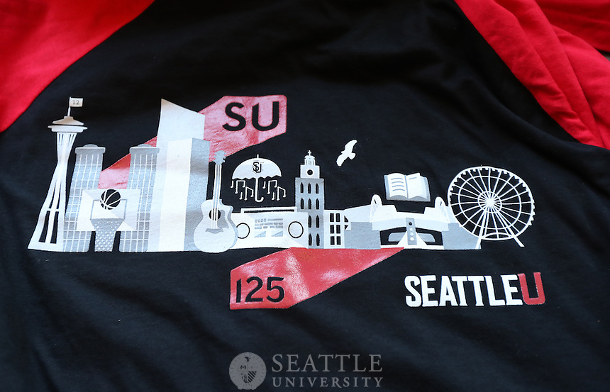 February 1st 2017 - Seattle University's involvement fair and Homecoming royalty announcement.