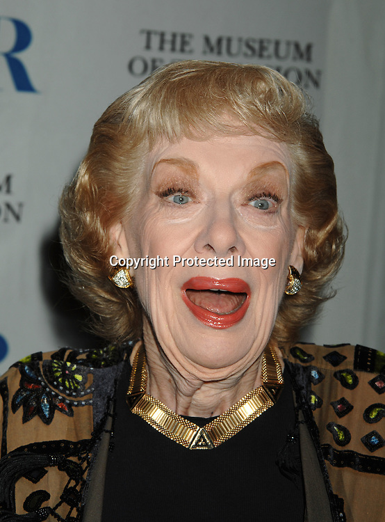Joyce Randolph, star of The Honeymooners..at The Museum of TV & Radio Annual 2007 Gala on ..February 8, 2007 honoring Sir Howard Stringer,Sony Corporation CEO and Chairman at The Waldorf Astoria..Hotel in New York. ..Robin Platzer, Twin Images..