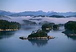 Island Landscape, Johnstone Strait Region, British Columbia, Canada