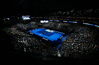 A general view of the O2 Arena<br /> <br /> Photographer Rob Newell/CameraSport<br /> <br /> International Tennis - Nitto ATP World Tour Finals Day 1 - O2 Arena - London - Sunday 11th November 2018<br /> <br /> World Copyright &copy; 2018 CameraSport. All rights reserved. 43 Linden Ave. Countesthorpe. Leicester. England. LE8 5PG - Tel: +44 (0) 116 277 4147 - admin@camerasport.com - www.camerasport.com