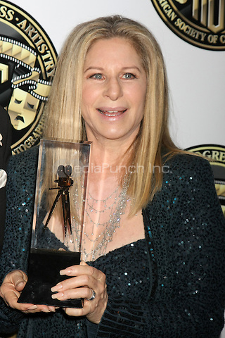CENTURY CITY, CA - FEBRUARY 15: Barbra Streisand at the 2015 American Society of Cinematographers Awards at Century Plaza Hotel in Century City, California on February 15, 2015. Credit: David Edwards/DailyCeleb/MediaPunch