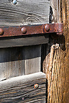Gate hinge, an old corral in central Oregon