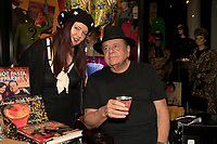 LOS ANGELES - MAR 1:  Dee Dee Sorvino, Paul Sorvino at the 15TH Awards Media Welcome Center at Hollywood Museum on March 1, 2018 in Los Angeles, CA