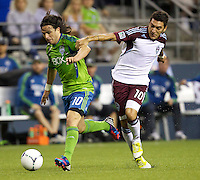 Seattle Sounders FC vs. Colorado Rapids, July 7, 2012