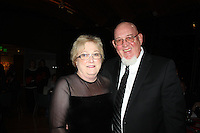 NWA Democrat-Gazette/CARIN SCHOPPMEYER Sharon and Jerry Jones stand for a photo the Art of Hospice. Sharon was presented the Bernice Young Jones Award at the benefit Nov. 5.