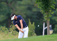 Lee Slattery (ENG) on the 5th fairway during Round 1 of the D+D Real Czech Masters at the Albatross Golf Resort, Prague, Czech Rep. 31/08/2017<br /> Picture: Golffile | Thos Caffrey<br /> <br /> <br /> All photo usage must carry mandatory copyright credit     (&copy; Golffile | Thos Caffrey)