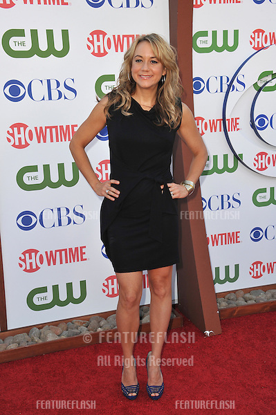 Megyn Price, star of Rules of Engagement, at the CBS Summer 2011 TCA Party at The Pagoda, Beverly Hills..August 3, 2011  Los Angeles, CA.Picture: Paul Smith / Featureflash