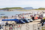 The may have had to reschedule the event twice last year but this year the sun was shining in Ballinskelligs for the Regatta.