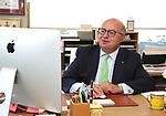 Red Bank Mayor Pasquale Menna votes for Riverview Medical Center