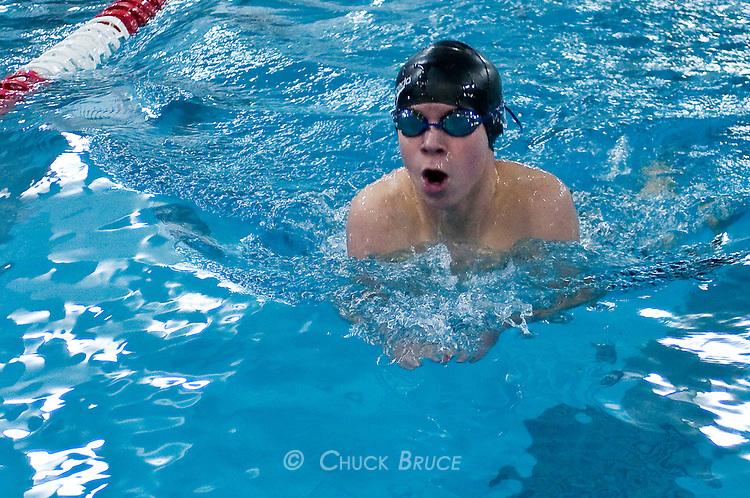 Conant Defeats NewportConant competes in swim meet
