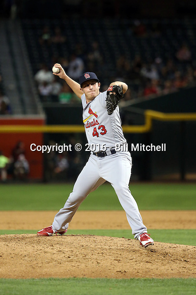 Seth Maness - 2016 St. Louis Cardinals (Bill Mitchell)