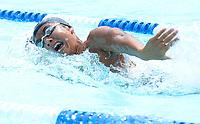 High Point Swim Club's Nathan Kim (17) swims the freestyle leg of the men's 15-19 year-old 200-meter individual medley. Kim wins the event, with a time of 2:07.96 during 2019 All-City Swim and Dive on Sunday, 8/4/19 at West Side Swim Club in Madison, Wisconsin