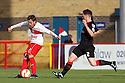 Robin Shroot of Stevenage shoots wide. Stevenage v Crewe Alexandra - npower League 1 -  Lamex Stadium, Stevenage - 15th September, 2012. © Kevin Coleman 2012.
