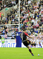 PICTURE BY CHRIS MANGNALL /SWPIX.COM...Rugby League - Super League  - Wigan Warriors v Bradford Bulls - DW Stadium, Wigan, England  - 29/06/12... Bradford's Luke Gale puts Bradford ahead with this conversion