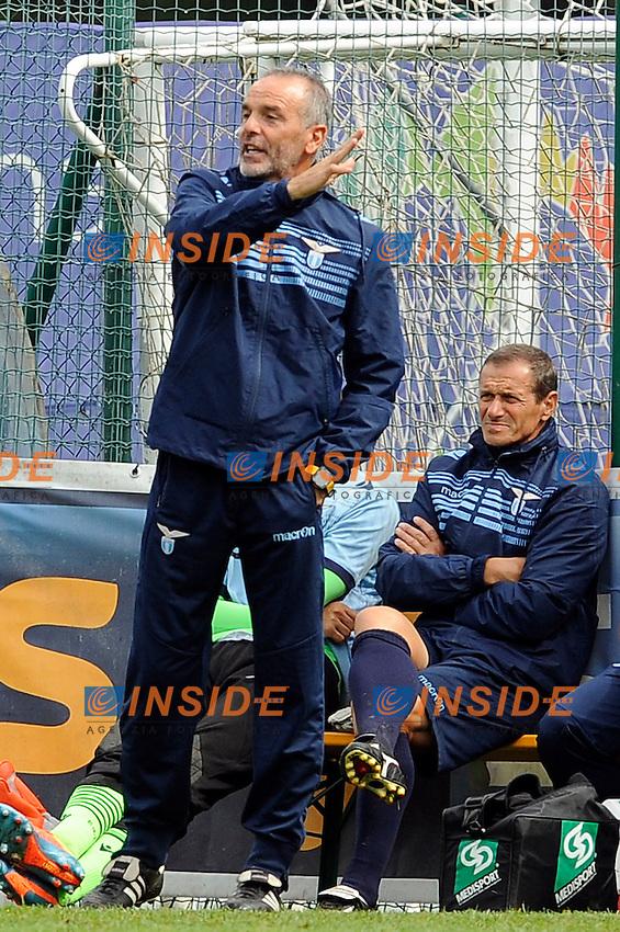 Stefano Pioli Lazio <br /> Auronzo 26-07-2014 <br /> Football Calcio Amichevole. Pre season 2014/2015 training. Lazio - Perugia. Foto Insidefoto