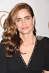 HOLLYWOOD, CA - JANUARY 28: Actress Amanda Peet arrives at the 28th Annual Producers Guild Awards at The Beverly Hilton Hotel on January 28, 2017 in Beverly Hills, California.