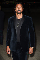 David Haye<br /> arriving for the 2017 NSPCC Britain&rsquo;s Got Talent Childline Ball at Old Billingsgate, London<br /> <br /> <br /> &copy;Ash Knotek  D3315  28/09/2017