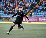Declan John celebrates his goal for Rangers