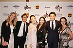 Tanith Belbin, Charlie White, Meryl Davis, Maia & Alex Shibutani & Sasha Cohen - Figure Skating in Harlem presents Champions in Life Benefit Gala on April 29, 2019 at Chelsea Pier, New York City, New York - (Photo by Sue Coflin/Max Photos)