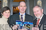 At the Great Southern Hotel, Killarney, on Wednesday, launching the Institute of Guidance Counsellors National Conference and AGM which will be held in the Great Southern Hotel from Thursday 8th to Saturday 10th March were, l-r: Ita Lane (Organising Committee PRO), Frank Mulvihill (President Institute of Guidance Counsellors) and Tim Gleeson (Chairperson Organising Committee).