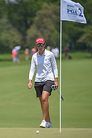 Carlota Ciganda (ESP) barely misses her putt on 2 during round 3 of the 2018 KPMG Women's PGA Championship, Kemper Lakes Golf Club, at Kildeer, Illinois, USA. 6/30/2018.<br /> Picture: Golffile | Ken Murray<br /> <br /> All photo usage must carry mandatory copyright credit (&copy; Golffile | Ken Murray)