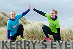 Launching the BANNA BEAST CHALLENGE, a military style obstacle challenge over 7 km with over 20 fun and challenging obstacles which will take place on APRIL 1st & 2nd 2017 on Banna Beach, Michelle O'Shea and Mairead McMahon