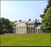 BNPS.co.uk (01202) 558833<br /> Picture: Bonhams<br /> <br /> Trelissick House near Truro in Cornwall<br /> <br /> It is the ultimate garden sale -- The aristocrat Cunliffe-Copeland family are auctioning off millions of pounds of antiques in a unique sale of the entire contents of their stately home Trelissick House near Truro in Cornwall. For generations the family have filled the magnificent The 18th century manor with treasures acquired from travels around the globe.<br /> <br /> 58 years ago the house was left to the National Trust on the condition members of the family could carry on living in the property. But the current incumbent, William Copeland and wife Jennifer, have decided to buy a normal-sized family home and are unable to take the hundreds of heirlooms with them. So they are holding a two-day sale of ancient ornaments, paintings, furniture, jewellery, silverware, books, rugs and wine in the grounds of Trelissick House, near Truro, later this month, and hope to raise &pound;3million