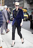 JUN 07 Tilda Swinton at the Late Show with Stephen Colbert