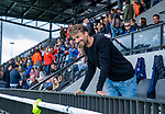 AMSTELVEEN - coach Warner vd Vegt. Kampong JB1-Bloemendaal JB1.  BLOEMENDAAL JB1 wint de titel Jongens  B. (3-3) na shoot outs. finales A en B jeugd  Nederlands Kampioenschap.  COPYRIGHT KOEN SUYK
