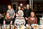 Mary Hussey, Marion Park Tralee, having a mothers day meal at the Stone House on Saturday Pictured front l-r Deirdre Hussey, Mary Hussey, Mom, Ann Donovan. Back l-r  Linda Field, Tara Field and Sarah O'Connor