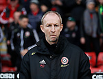 Alan Knill Assistant manager of Sheffield Utd during the Premier League match at Bramall Lane, Sheffield. Picture date: 7th March 2020. Picture credit should read: Simon Bellis/Sportimage