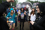 © Joel Goodman - 07973 332324 . 11/06/2016 . Manchester , UK . Revellers at the Parklife music festival at Heaton Park in Manchester . Photo credit : Joel Goodman