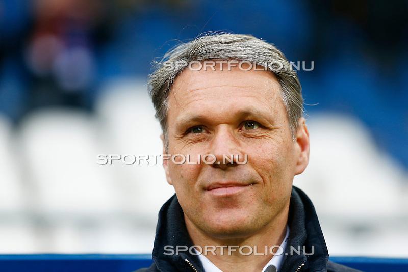 Nederland, Heerenveen, 26 april 2013.Eredivisie.Seizoen 2012-2013.SC Heerenveen-AZ.Marco van Basten, trainer-coach van SC Heerenveen