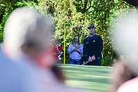 Jon Rahm (ESP) chips on 6 during round 4 of the World Golf Championships, Dell Technologies Match Play, Austin Country Club, Austin, Texas, USA. 3/25/2017.<br /> Picture: Golffile | Ken Murray<br /> <br /> <br /> All photo usage must carry mandatory copyright credit (&copy; Golffile | Ken Murray)