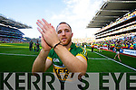 Darran O'Sullivan. Kerry players celebrate their victory over Donegal in the All Ireland Senior Football Final in Croke Park Dublin on Sunday 21st September 2014.