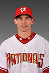 14 March 2008: ..Portrait of Levale Speigner, Washington Nationals Minor League player at Spring Training Camp 2008..Mandatory Photo Credit: Ed Wolfstein Photo