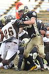 Palos Verdes, CA 11/04/11 - Will Cummins (Peninsula #83) in action during the West Torrance vs Peninsula varsity football game.