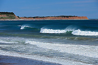 Waves and surf on the Atlantic Ocean<br />