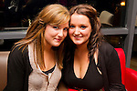 Lisa McCloskey (right) celebrates her 20th birthday in Bru, pictured with Allyson Madden..Picture: Shane Maguire / www.newsfile.ie.