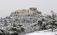 2017 01 10 Snow in Greece