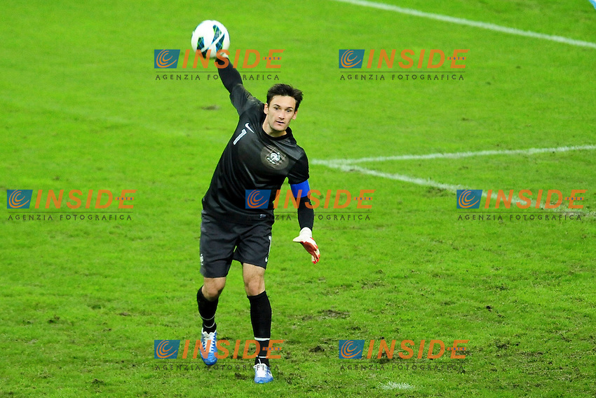 Hugo Lloris (Fra) .Parigi 12/10/2012 .Football Calcio Amichevole.Francia Vs Giappone.Foto Panoramic / Insidefoto.ITALY ONLY