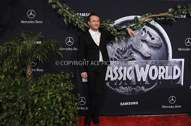 WWW.ACEPIXS.COM<br /> <br /> June 9 2015, LA<br /> <br /> Chris Hardwick arriving at the world premiere of 'Jurassic World' at the Dolby Theatre on June 9, 2015 in Hollywood, California. <br /> <br /> <br /> By Line: Peter West/ACE Pictures<br /> <br /> <br /> ACE Pictures, Inc.<br /> tel: 646 769 0430<br /> Email: info@acepixs.com<br /> www.acepixs.com