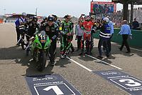 #11 TEAM SRC KAWASAKI FRANCE (FRA) KAWASAKI ZX 10R FORMULA EWC GUARNONI JEREMY (FRA) CHECA DAVID (ESP) NIGON ERWAN (FRA)