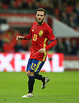 Spain's Juan Mata in action during the friendly match at Wembley Stadium, London. Picture date November 15th, 2016 Pic David Klein/Sportimage