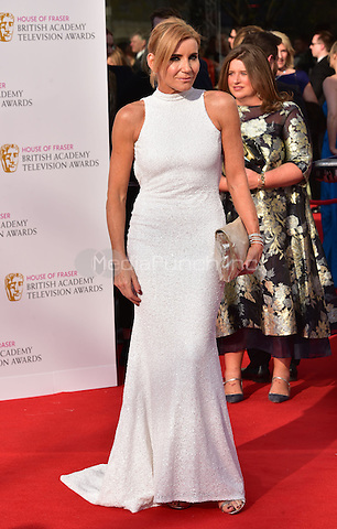 LONDON, ENGLAND - MAY 08: Michelle Collins at he British Academy (BAFTA) Television Awards 2016, Royal Festival Hall, Belvedere Road, London, England, UK, on Sunday 08 May 2016.<br /> CAP/JOR<br /> &copy;JOR/Capital Pictures /MediaPunch ***NORTH AMERICA AND SOUTH AMERICA ONLY***