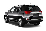 Car pictures of rear three quarter view of 2017 GMC Terrain SLT 5 Door SUV Angular Rear