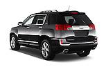 Car pictures of rear three quarter view of 2016 GMC Terrain SLT 5 Door SUV Angular Rear